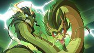 Mei's Parents as Dragons
