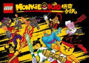 Monkie Kid Wave 1 Characters