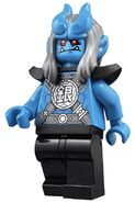 Silver Horn Demon Minifigure