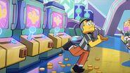 MK leaves Arcade 1