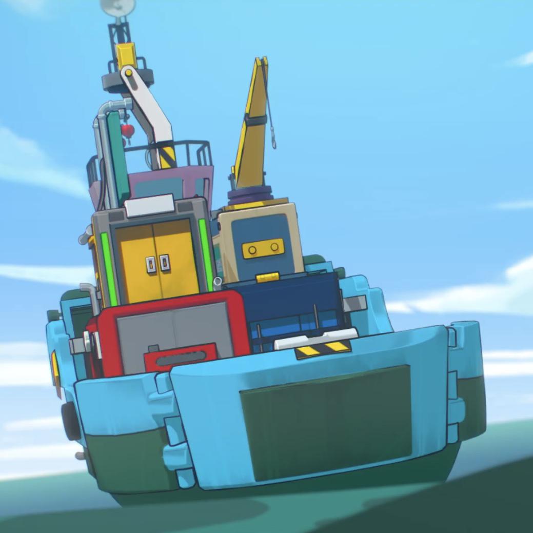 Sandy's Cargo Ship