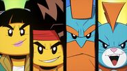 Mei, MK, Sandy, and Mo