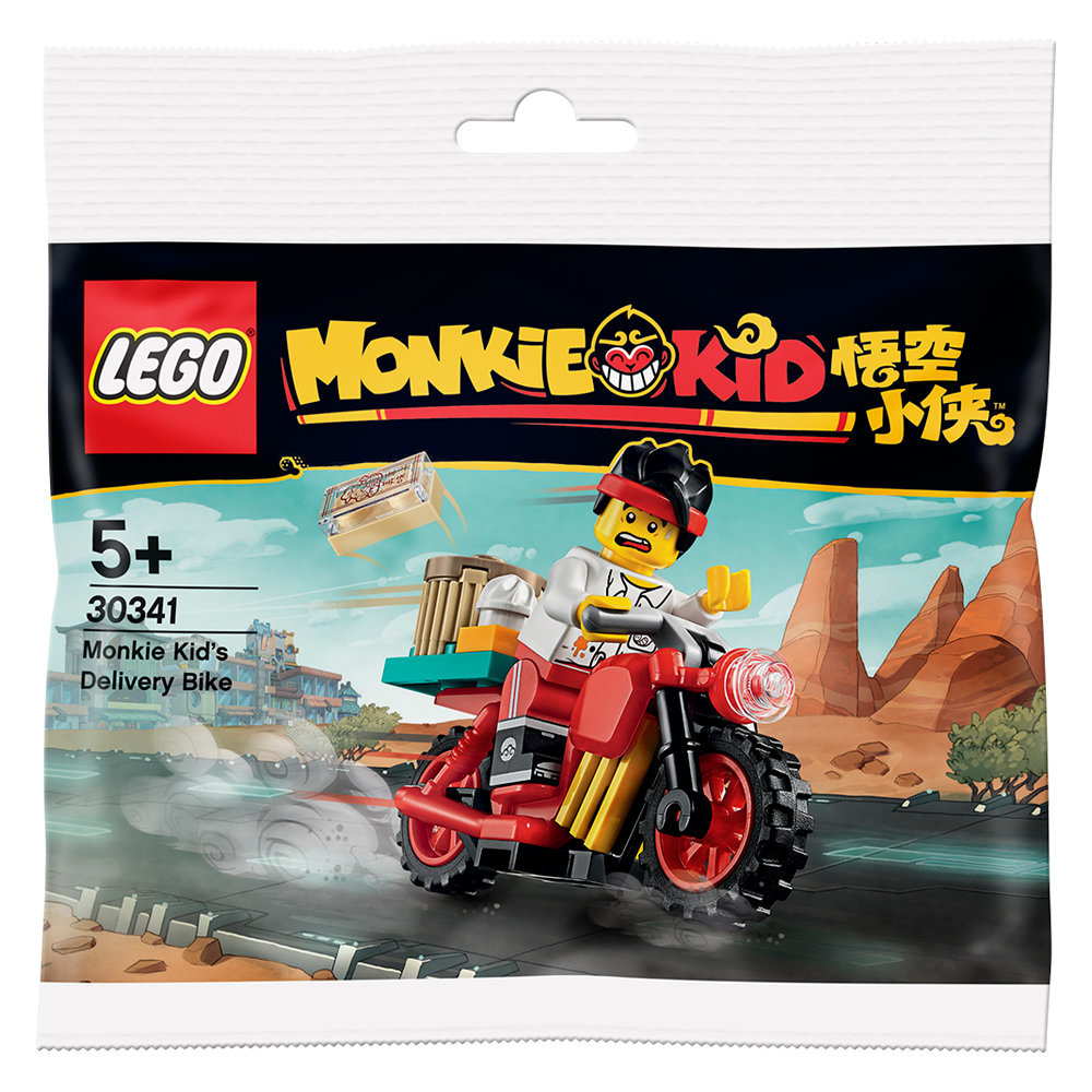 30341 Monkie Kid's Delivery Bike