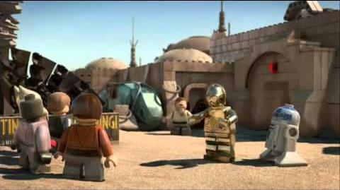 Lego Star Wars The padawan Menace HD