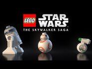 Official LEGO Star Wars- The Skywalker Saga Trailer