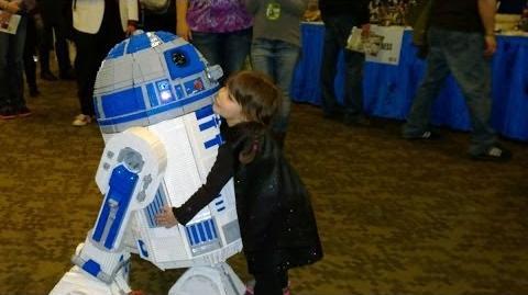 Darth Lily & Lego R2-D2