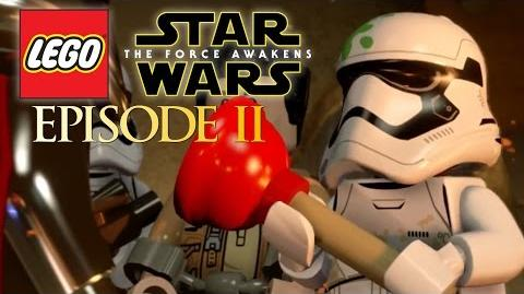 ASSAULT ON JAKKU Lego Star Wars The Force Awakens Gameplay Episode 2