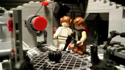 Lego Star Wars Death Star Shenanigans