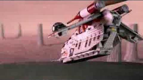 Lego Star Wars Republic Gunship Commerical