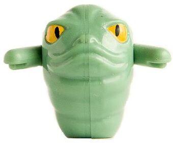 grüner Wurm Neu Lego Star Wars RottaThe Hutt Figur Rota the Hut Hood