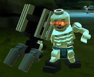 Skeleton Mad Scientist