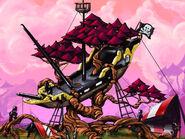 Pirate camp concept art