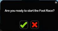 Footrace start