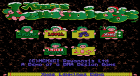 XmasLemmings91-92 Title.png