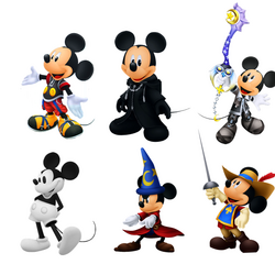 Mickey Mouse/Apparitions