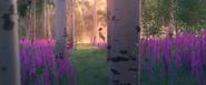 Souvenir de la jeune reine Iduna dans la forêt.
