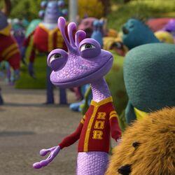 Randall à Monstre Academy