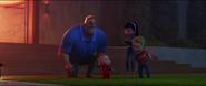 Bob, Violette, Flèche et Jack-Jack