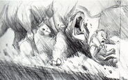 Lion king concept art storyboard 51