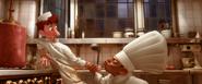 Skinner et la cuisine de Linguini