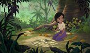 Shanti s'inquite pour mowgli