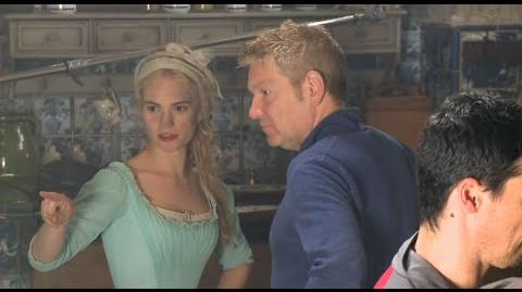 Cinderella (2015) Behind the Scenes Complete Broll - Lily James, Hayley Atwell, Helena Bonham Carter