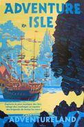 Adventure Isle Poster Paris