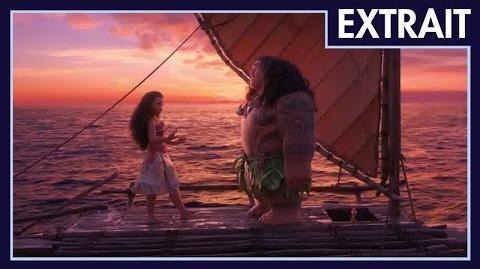 Vaiana, la légende du bout du monde - Extrait Apprends-moi à naviguer!