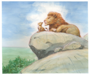 Lion-King-Concept-Art-Mufasa-and-Simba