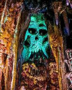 Adventure Isle Paris Cave Skull