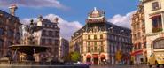 Holley, Finn et Martin à Paris