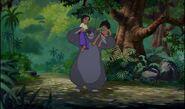 Mowgli shanti et baloo