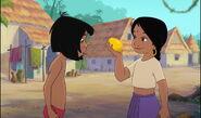 Mowgli impressionné de la technique de shanti