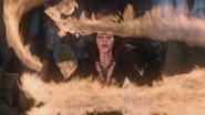 OUAT Maléfique sceptre flammes de dragon