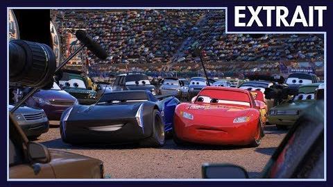 Cars 3 - Extrait Flash McQueen rencontre Jackson Storm