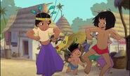 Mowgli shanti et ranjan dansent