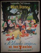 Affiche francaise 1962