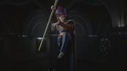 Descendants Jafar statue sceptre serpent