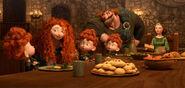 Brave merida family