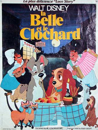La Belle et le Clochard (1955)