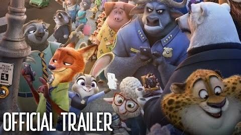 Zootopia Official US Trailer