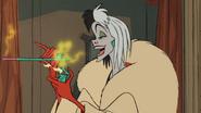 Cruella fumée cigarette 101 dalmatiens