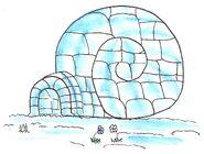 La colimaison-igloo