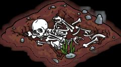 Tas d'ossements