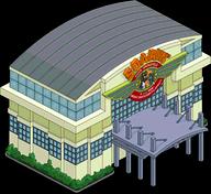Manège Vol au-dessus de Springfield