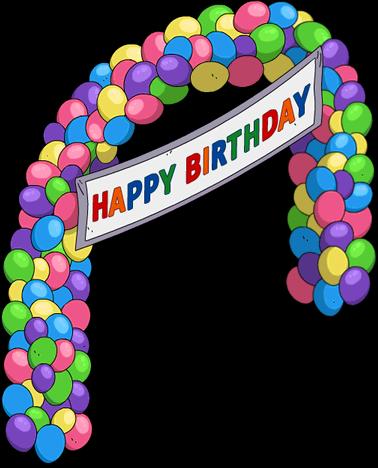 Arche en ballons de Milhouse