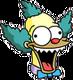 Poupée parlante de Krusty Diabolique