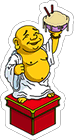 Gros Bouddha de Bob Icon