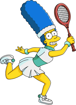 Marge Tenniswoman