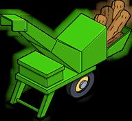 Déchiqueteuse à bois